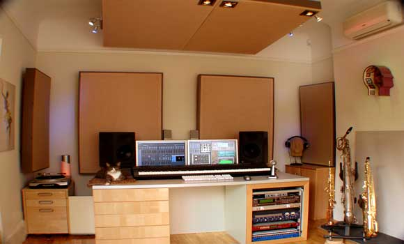 Home Studio Acoustics High Amp Mid Frequency Absorbers